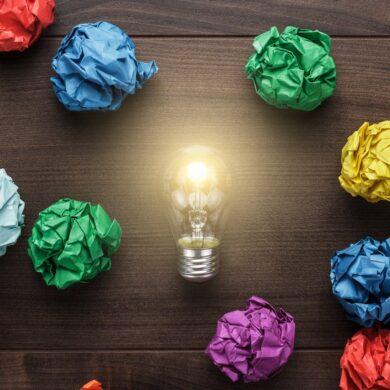 Creative genius ideas - Lightbulb