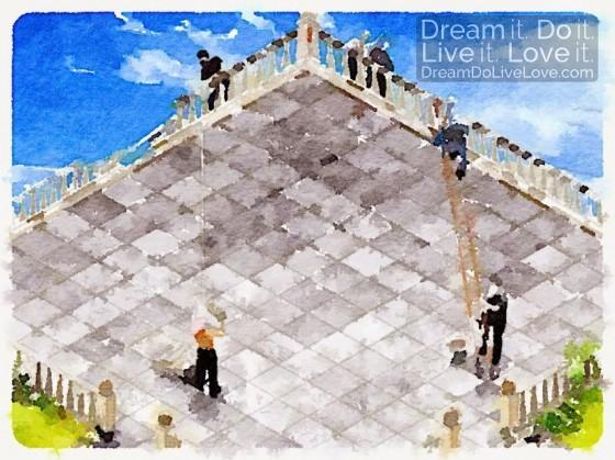 escher-staircase-watercolor