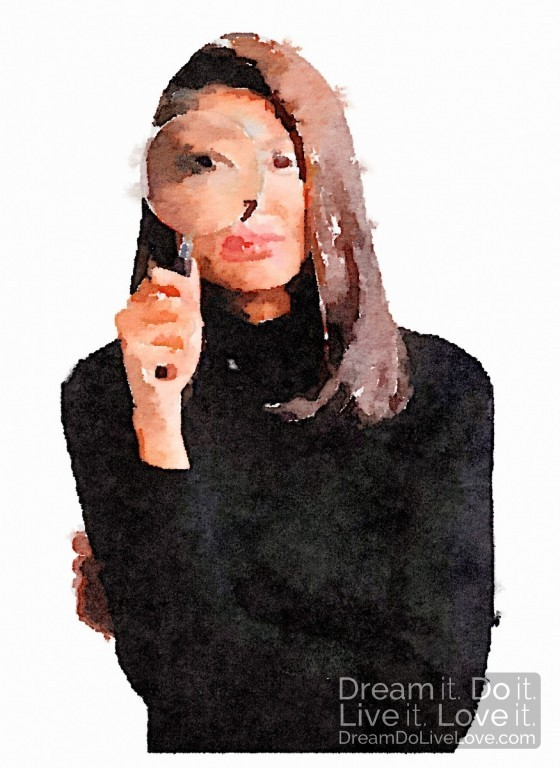 woman-looking-magnifying-glass